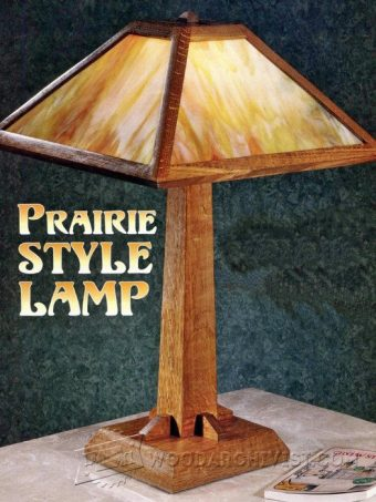 2814-Prairie Table Lamp Plans