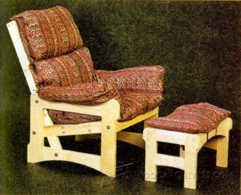 2820-Lounge Chair Plans