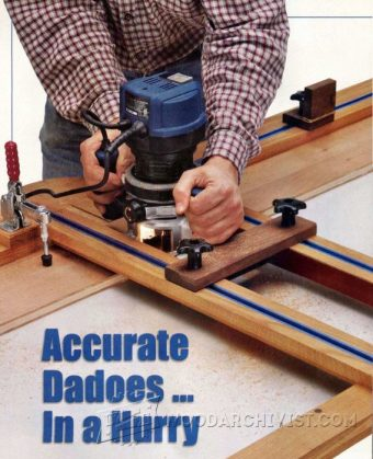 2822-Dado Router Jig Plans