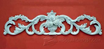 2828-Carving Cresting  - Wood Carving Patterns