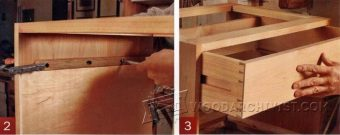2841-DIY Wooden Drawer Slides