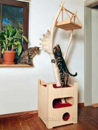2843-DIY Cat Tree