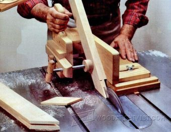 2850-Table Saw Tenoning Jig Plans