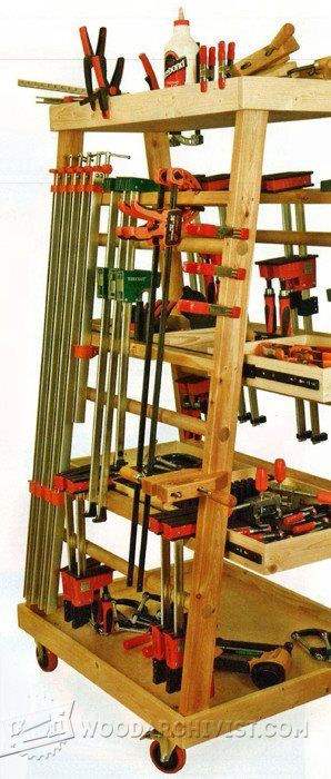2856-Mobile Clamp Rack Plans