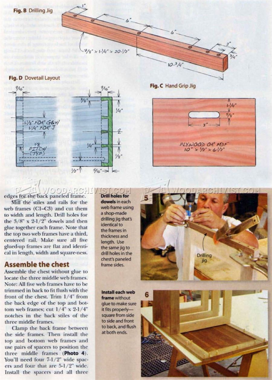 Build Chest of Drawers