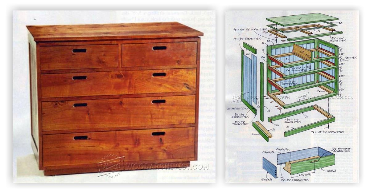 Build Chest of Drawers • WoodArchivist
