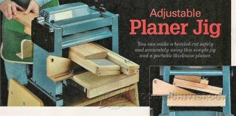2858-Bevel Adjustable Planer Jig