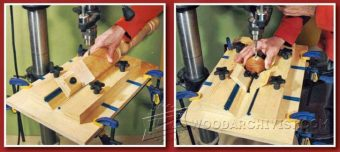 2861-Cylindrical and Round Object Drilling Jig