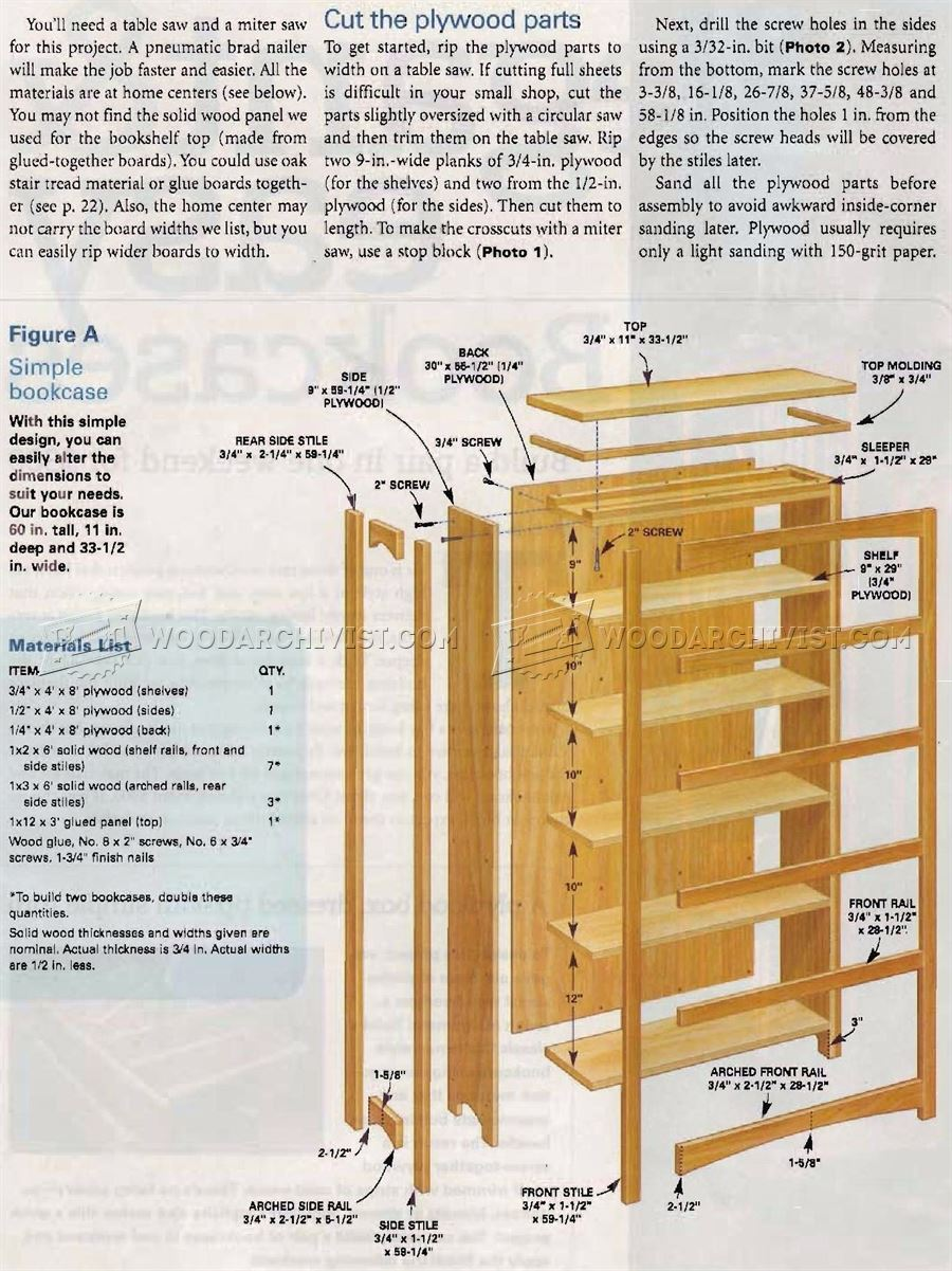 DIY Bookcase