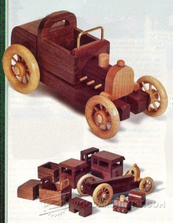 2865-Wooden Toy Car Plans