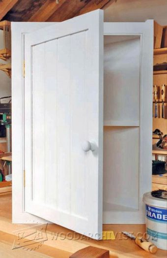 2869-Bathroom Corner Cabinet Plans