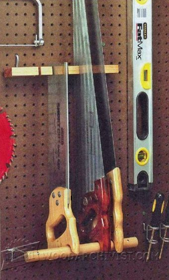 2870-DIY Pegboard Hand Saw Holder