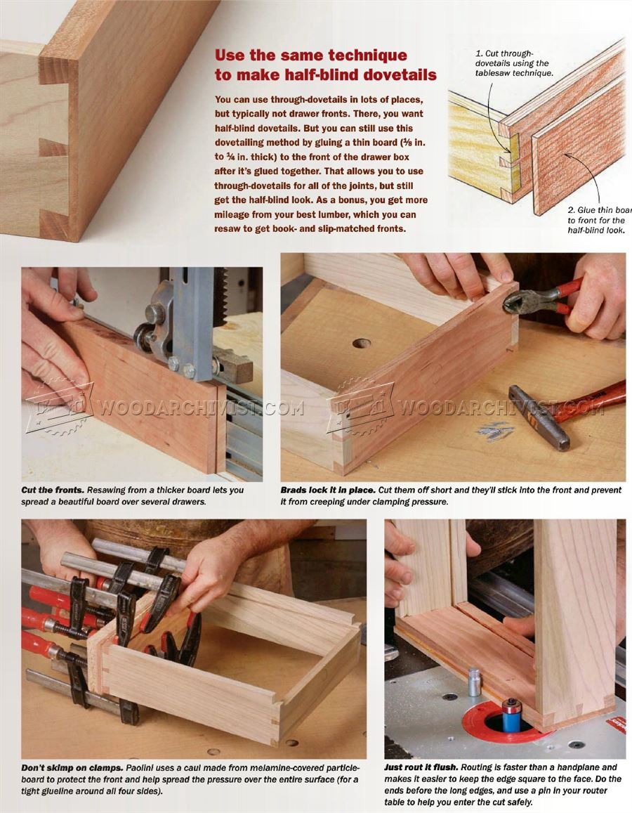 Table Saw Dovetail