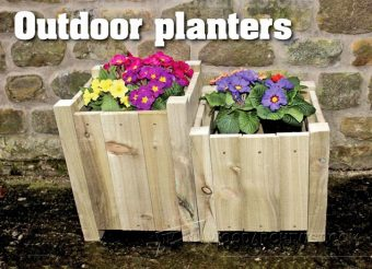 2878-Outdoor Planter Plans