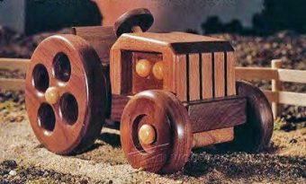 2879-Wooden Tractor Plans