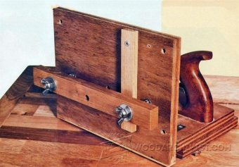2880-Table Saw Tenon Jig Plans