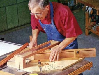 2882-Table Saw Miter Jig Plans