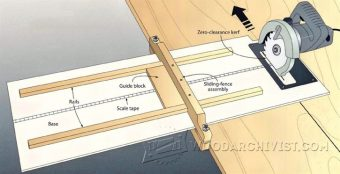 2885-DIY Circular Saw Edge Guide