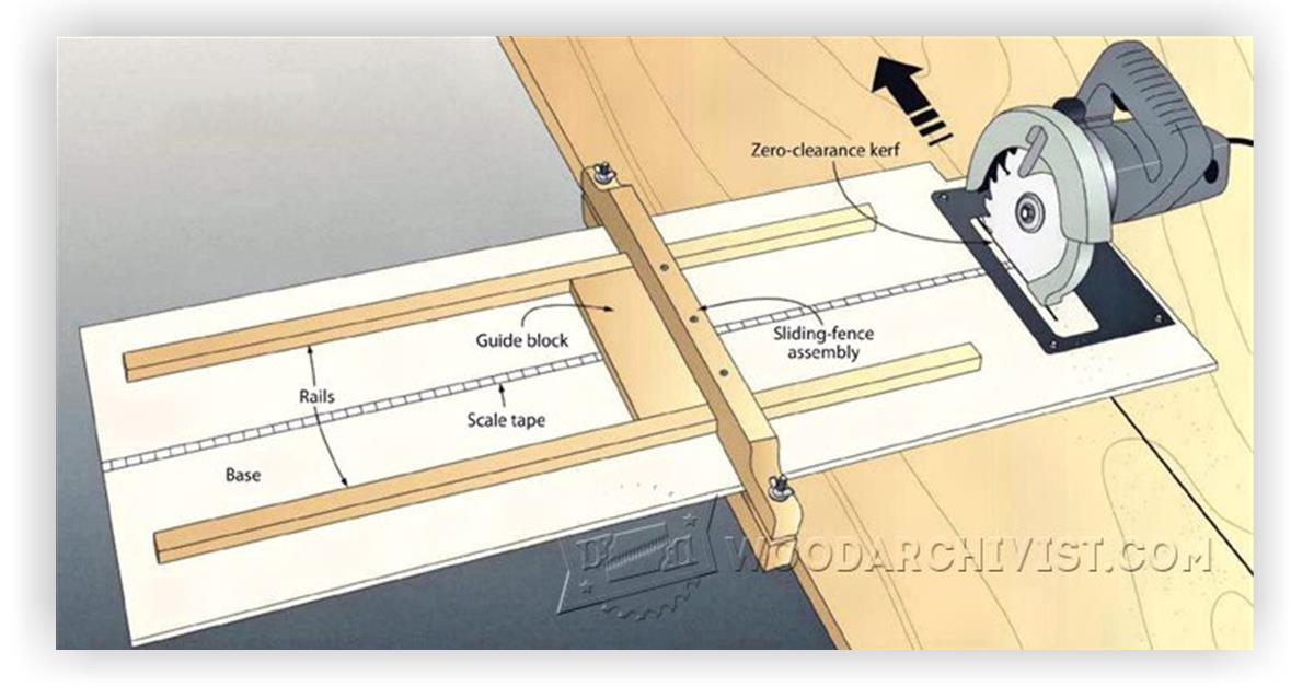 how to build a table saw with a circular saw