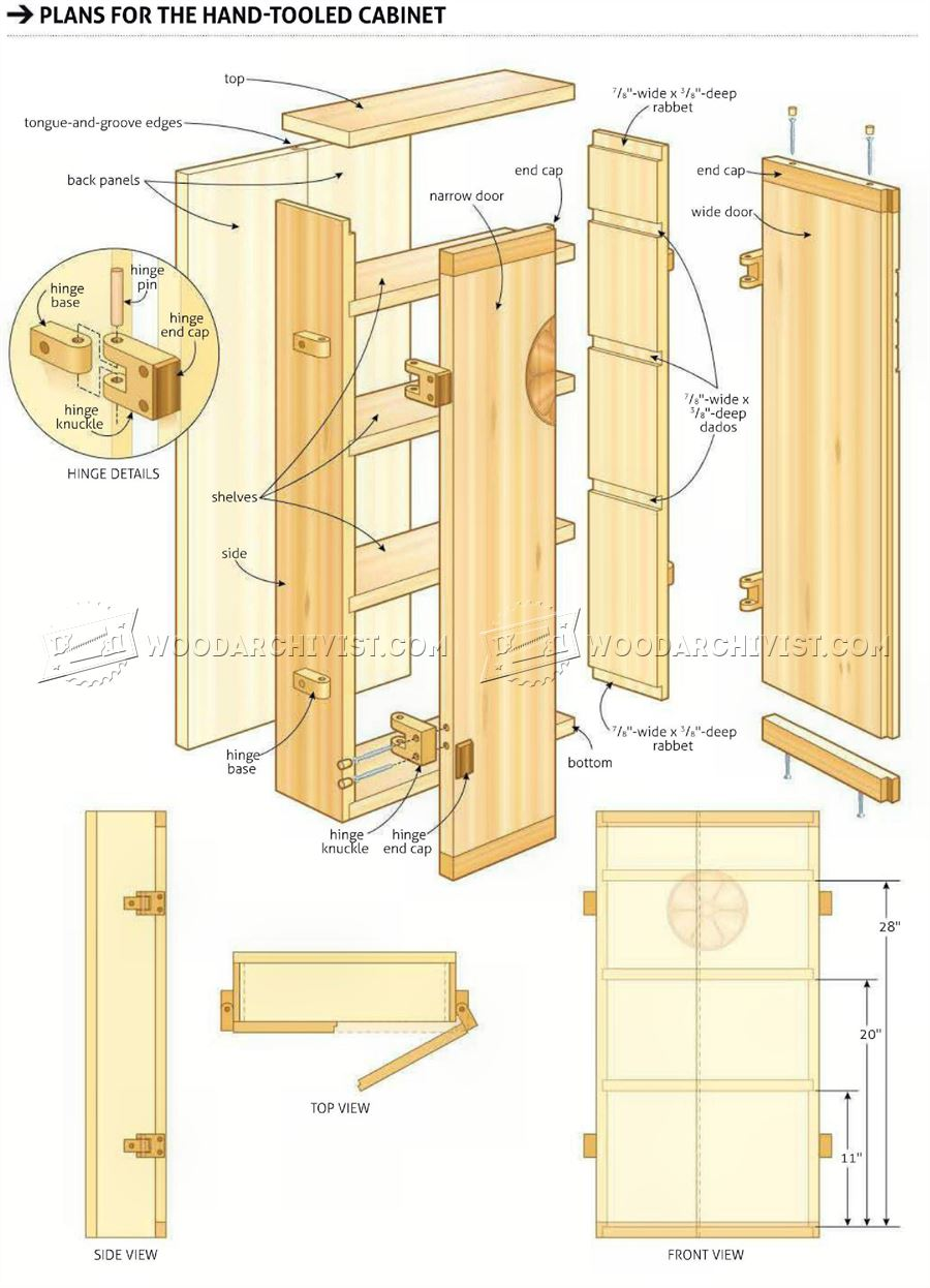 Small Wall Cabinet Plans Woodarchivist