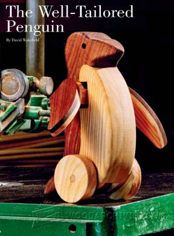 2895-Pinguin - Wooden Toy  Plans