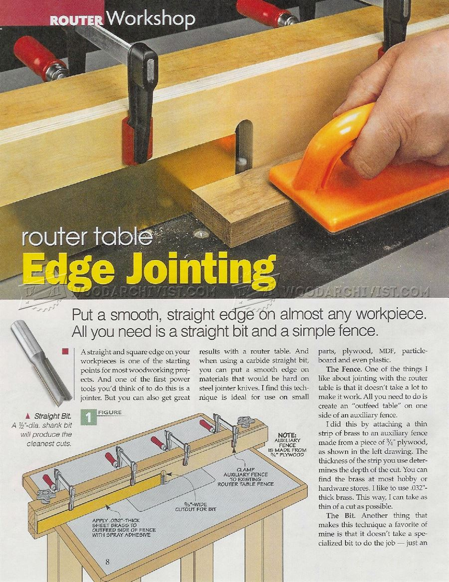 #2908 Router Table Edge Jointing