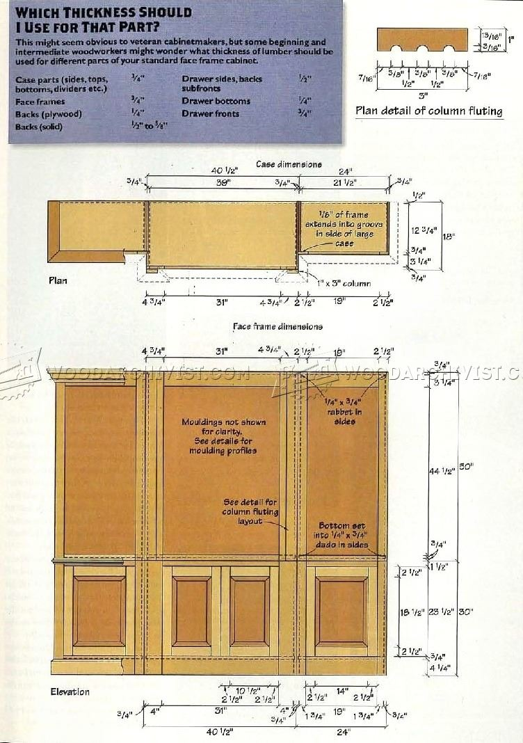 Handsome Bookcase Plans