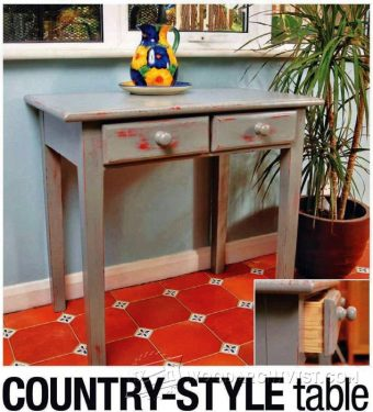 2911-Country Table Plans