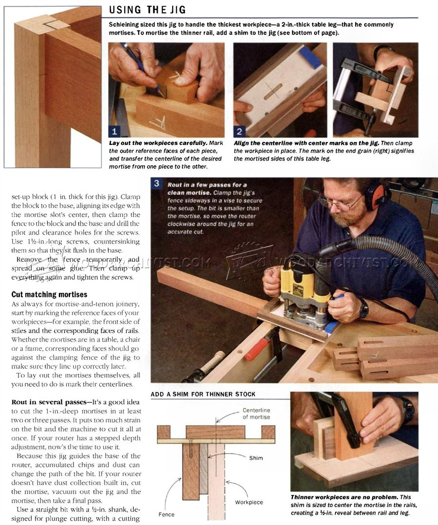 Floating Tenon Joinery