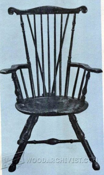 2925-Classiс Windsor Chair Plans