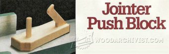 2930-Jointer Push Block