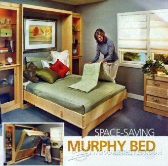 2932-Murphy Bed Plans