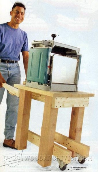 2934-Portable Planer Stand Plans