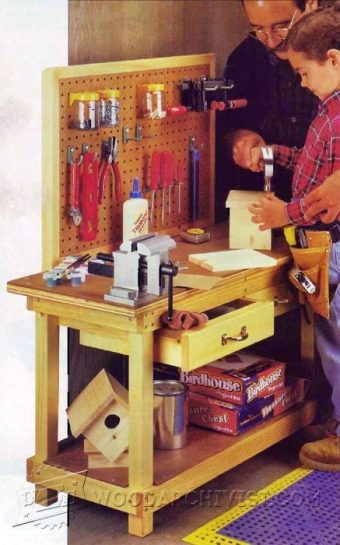 2937-Childrens Workbench Plans