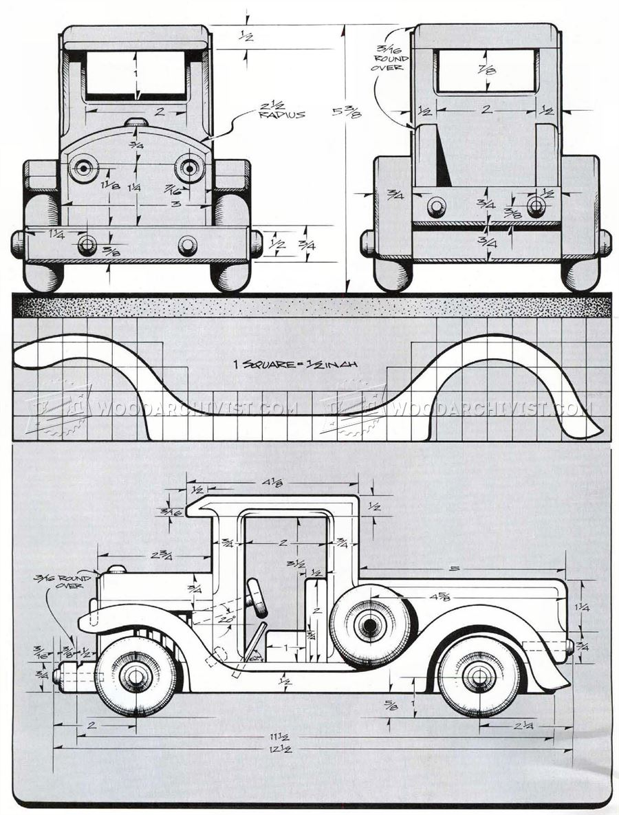 Toy Car Plans : Vintage car plans bing images