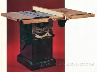 2939-Table Saw Stand Plans