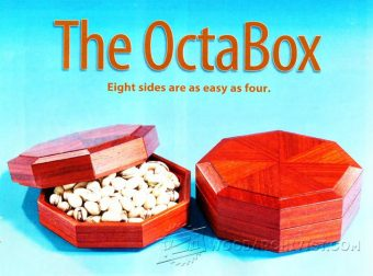 2950-Octagonal Box Plans