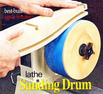2951-DIY Lathe Sanding Drum