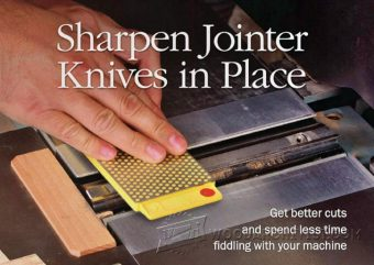 2956-Sharpening Jointer Knives in Place