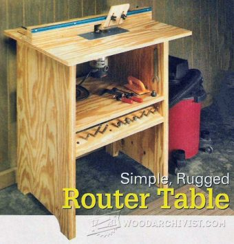 2961-Simple Router Table Plans