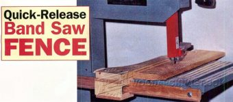 2968-Band Saw Rip Fence Plans