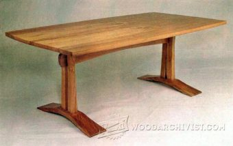 2971-Craftsman Coffee Table Plans