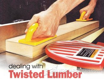 2975-Squaring Twisted Lumber