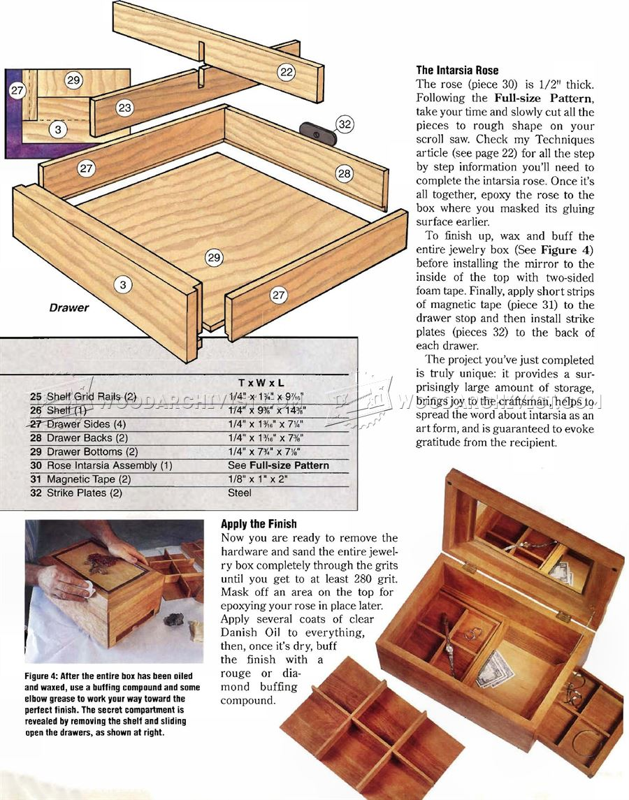 Build Jewelry Box Woodarchivist