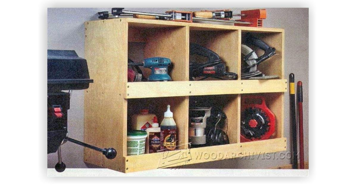 Portable Power Tool Storage • WoodArchivist