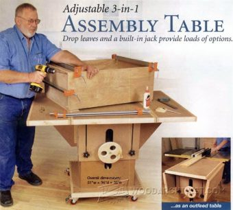 2995-Assembly Table Plans