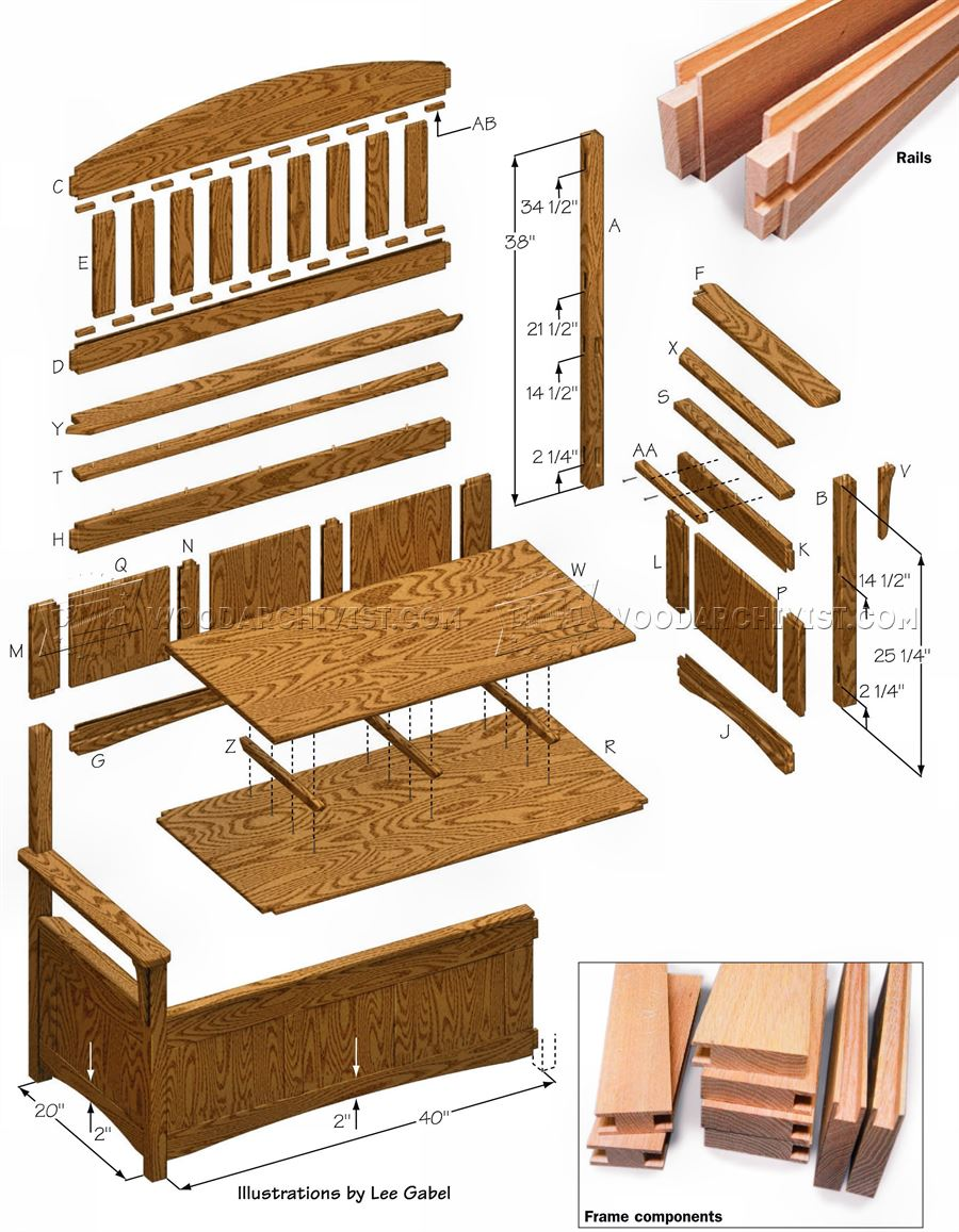 deacons bench plans - 28 images - guide to get deacon ...