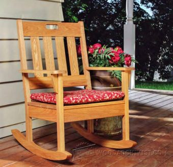 3000-Outdoor Rocking Chair Plans