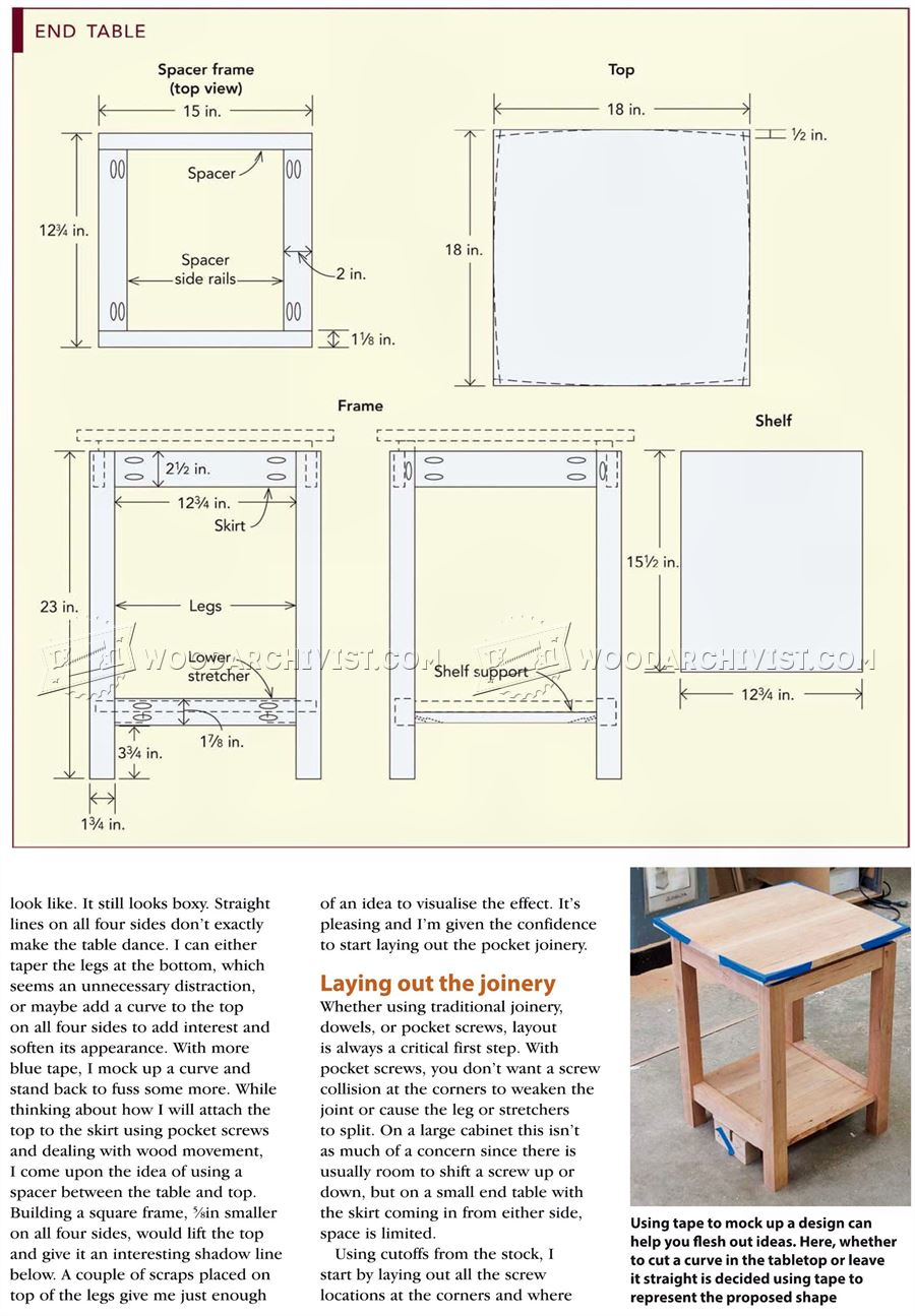 Build A End Table | vip-seo.lima-city.de