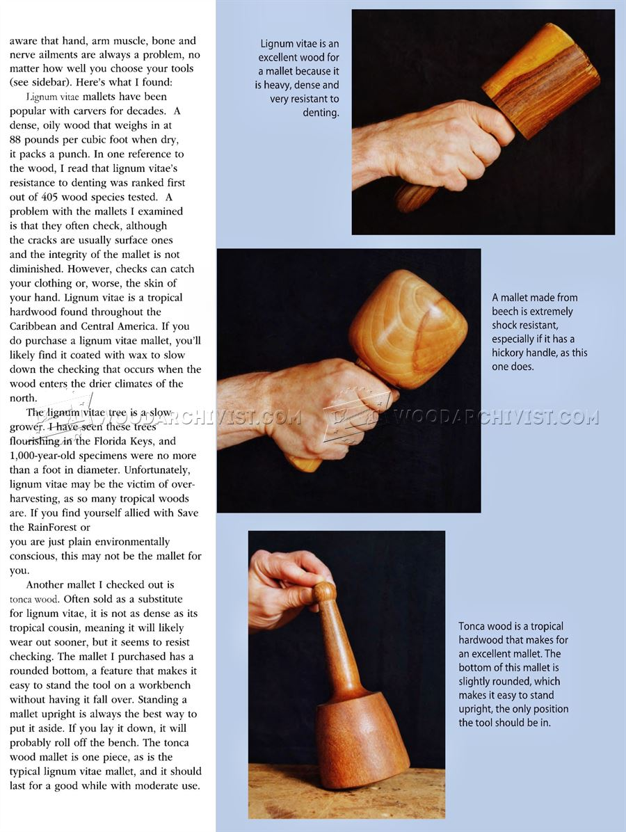 All About Wood Carving Mallet